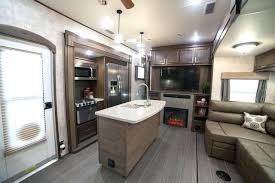 5th wheel with living room in front front kitchen 5th wheel open range front living room or bedroom