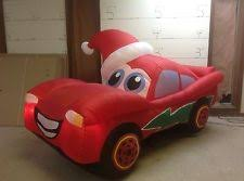 Air Blown Christmas Decorations Gemmy Prototype Airblown Inflatable Christmas Cars Lightning