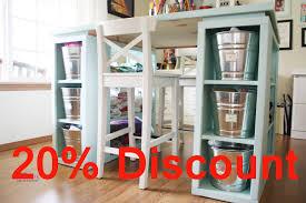 Craft Storage Cabinet Craft Table With Storage Craft Storage Furniture Craft Storage