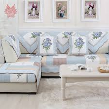Sectional Sofa Slipcovers by Compare Prices On Blue Sofa Cover Sectional Online Shopping Buy