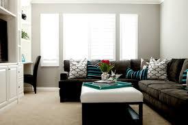 living rooms windsor smith riad gray walls espresso microfiber