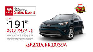 toyota lease lafontaine toyota i love march 2017 toyota rav 4 march 2017