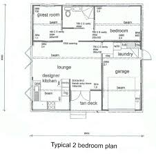 great two bedroom house design style with floor pl 982x972