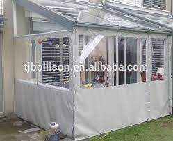 Clear Vinyl Patio Enclosures by Crystal Clear Vinyl Tarps 20 Mil For Patio Enclosure And Curtains