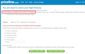 tutorial refunding a priceline ticket dansdeals com