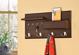 amazon com entryway coat rack mail envelope storage and key