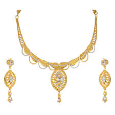 golden jewellery necklace images Bridal gold jewellery sets online buy gold earrings online png
