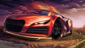 concept cars desktop wallpapers car sports car concept cars digital art painting audi wheels