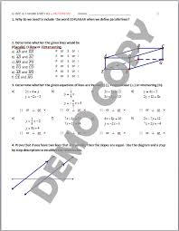 high geometry common core g gpe b 5 parallel