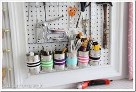 Organize A Craft Room - how to organize your tools in a craft room creative wall 2 in