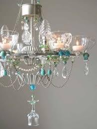 Wine Glass Chandelier Diy Pin By Eliza Bruder On Home Lighting Pinterest Chandeliers