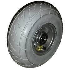 chambre a air 260x85 roue complète gonflable pneu impac is305 gris 3 00 4 260x85