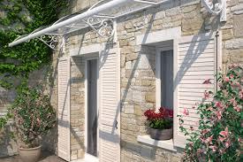 tettoie per porte esterne pensiline e tettoie a vimercate mister tenda