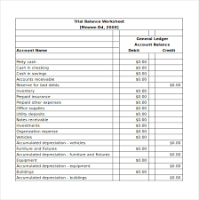 Excel Balance Sheet Template by Balance Sheet Template 16 Free Word Excel Pdf Documents