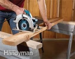 use circular saw as table saw circular saw tips and techniques family handyman