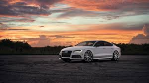sunset audi audi rs7 sunset slammered inc s 2015 calendar white color