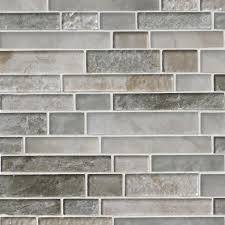 savoy interlocking pattern 8mm mosaics decorating bathroom