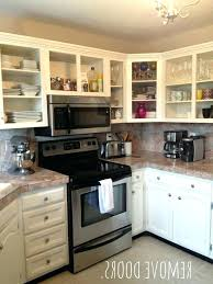 Kitchen Cabinet Doors Only Replacing Kitchen Cabinet Doors Simplir Me