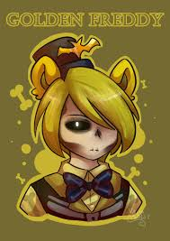anime happy halloween happy halloween golden freddy fnaf by vanabananasplit on deviantart