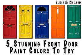 paint colors front doors red brick houses what color to door of