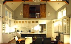 white kitchen cabinets with wood beams white kitchen with wood beams barn doors contemporary