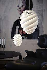 designer leuchte designer leuchten pendelleucheten mit spiralförmigem design