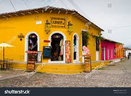 suchitoto el salvador may 03 colorful stock photo 206617810