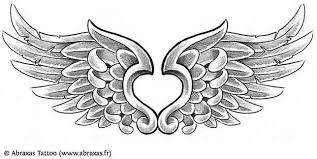 for the lower back with wings tats