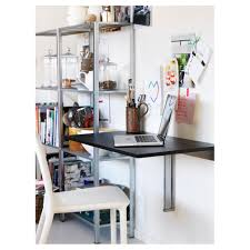 Ikea Wall Shelves by Wall Shelf Desk Diy Ikea Wall Shelf Desk Wall Shelves Above Desk
