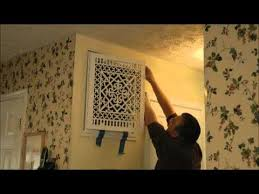 Decorative Return Air Grill How To Install A Beaux Arts Classic Products Decorative Filter