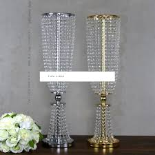 aliexpress com buy 100cm tall acrylic crystal wedding road lead