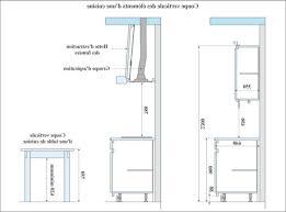 hauteur comptoir cuisine hauteur standard comptoir affordable salle with hauteur standard