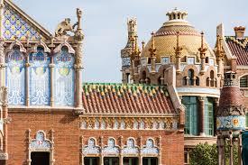 santa creu i sant pau hospital the splendor of catalonian modernism roof details photo robert ramos