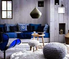 Blue Gray Color Scheme For Living Room Home Interior Design - Blue living room color schemes