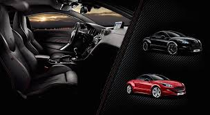 peugeot rcz inside peugeot rcz red carbon high spec and bespoke drive