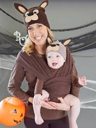 Potato Sack Creative Baby Halloween Matching Mom Baby Kangaroo Costume Kangaroo Costume