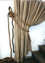 Rope Curtain Tie Back Curtain Rope Tie Backs Rope Tiebacks For Curtains Info Rope