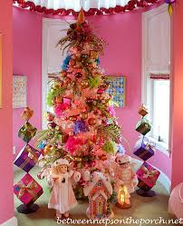 Decoration For Christmas Room by U0027s Pink Bedroom Decorated For Christmas