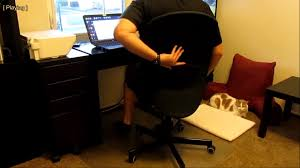 Ikea Office Chair Green Review Of Ikea Flintan Swivel Chair Office Type Chair Youtube