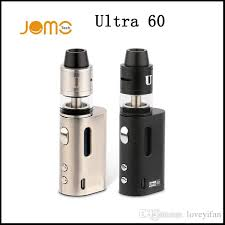 original jomo ultra 60 tc diy box mod kit rdta diy 2ml starter kit 2600mah battert via dhl e starter kit ego kits e cig from loveyifan