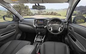 mitsubishi outlander 2017 interior 2017 mitsubishi mq triton exceed review loaded 4x4