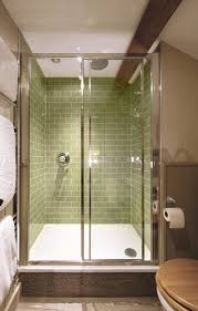 sage green crackle glazed bathroom tile from our harlo range at
