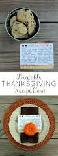thanksgiving hostess gifts printable thanksgiving recipe cards oh my creative
