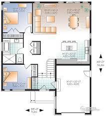 bi level floor plans with attached garage house plans with attached garage home designs by breezeway