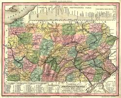 Virginia Map Counties by Mifflin County Pagenweb Maps