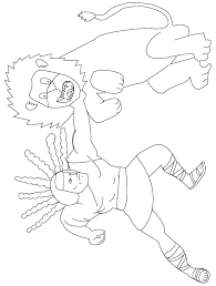 Free Coloring Pages Print Samson Coloring Pages Samson