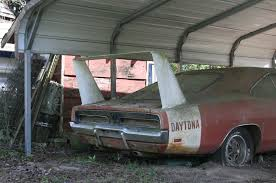 Barn Finds Cars Barn Find 1969 Dodge Daytona Charger Discovered In Alabama