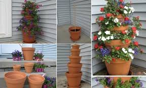 Design Flower Pots 17 Budget Friendly And Cute Garden Projects Made With Flower Pots