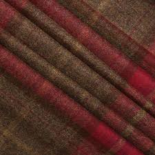 Plaid Curtain Material Winsome Tweed Curtains Tartan Interiors How To Choose The