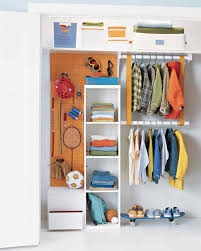 kid friendly closet organization 9 organizing solutions for kids u0027 closets martha stewart